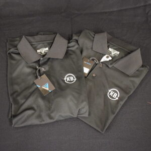 KB Heating & Air Conditioning Golf Shirts