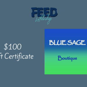 $100 Blue Sage Gift Certificate