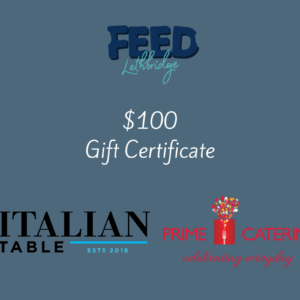 Gift Certificate to Italian Table