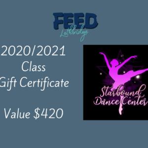 Dance Class – 2020/2021 Season