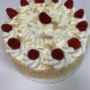 DESSERT – Coaldale Bakery – Raspberry Almond Cake
