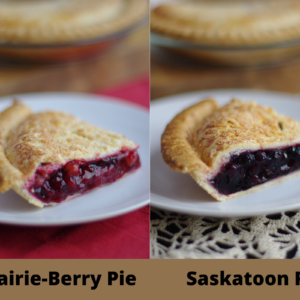 DESSERT – Sunrise Berry Farms – 1 Saskatoon AND 1 Prairie Berry Pie